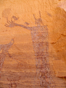 Harvest Scene pictographs