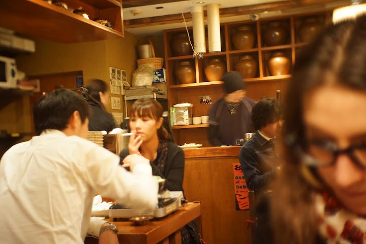 Smoking-in restaurant