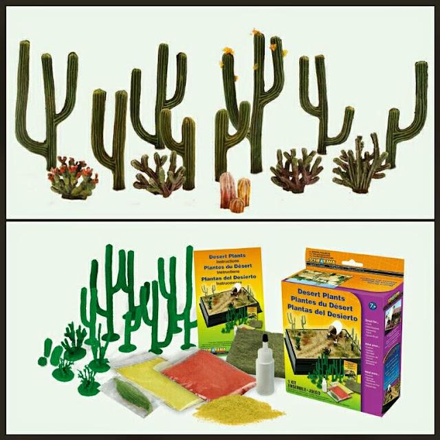 cactus Woodland scenic
