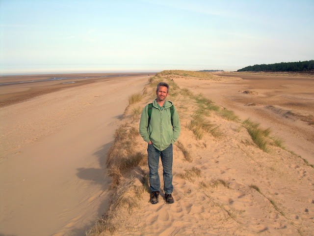 On a Holkham sand dune