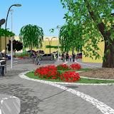 Regeneracion Urbana. Plaza Jaime I. L'Alf'às del Pi. (Alicante)