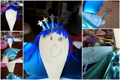 Blue+Fairy+collage Simply Link {Party} & Wooden Spoon Puppets {Kid Craft} 22