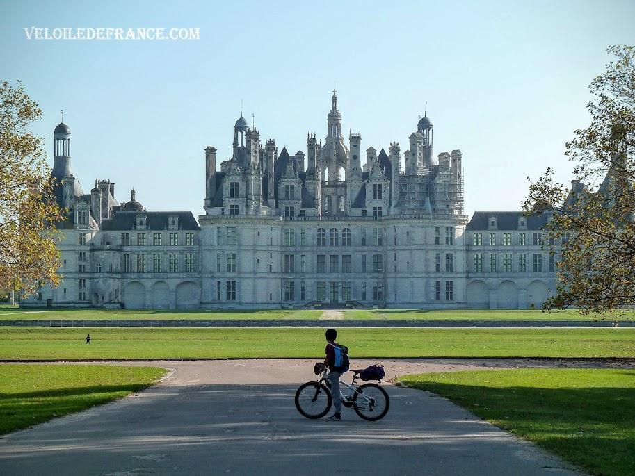Circuit à vélo de Blois au château de Chambord - e guide Evasion par veloiledefrance.com