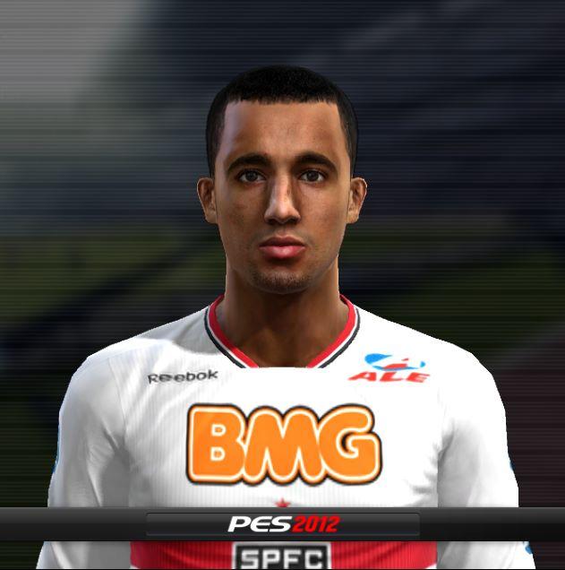 ruv440 PES 2012: Face de Lucas – São Paulo