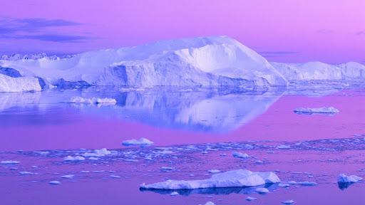 Icebergs in Jakobshavn, Disko Bay, Greenland.jpg