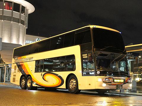 四国高速バス「ハローブリッジ号」・386 (H24.02.18撮影)