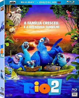 Rio 2 (2014) BRrip Blu-Ray 720p Dublado Torrent