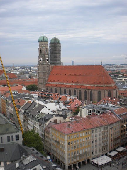 vista da Peterskirche Munique