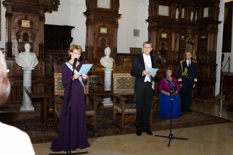 Speech on behalf of King Michael I at the Annual Royal Reception for the Diplomatic Corps, at the State Hall of the Pelesh Castle, November 29, 2014