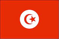 εθνική σημαία Τυνησίας, national flag of Tunisia.