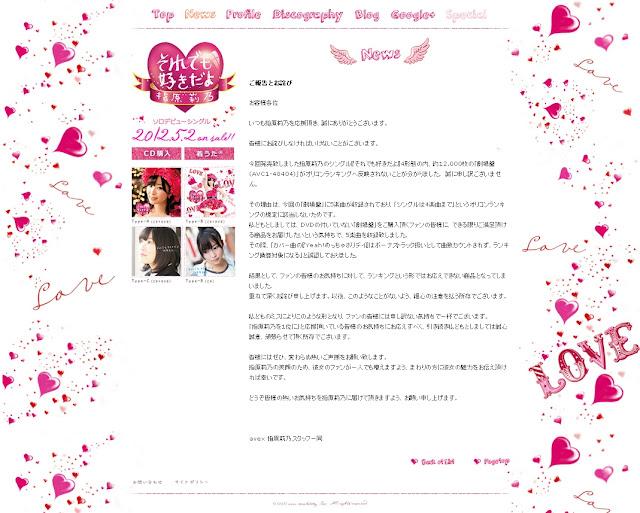 AKB48指原莉乃の「それでも好きだよ」の劇場盤 規定外で約12000枚がランキング反映されず