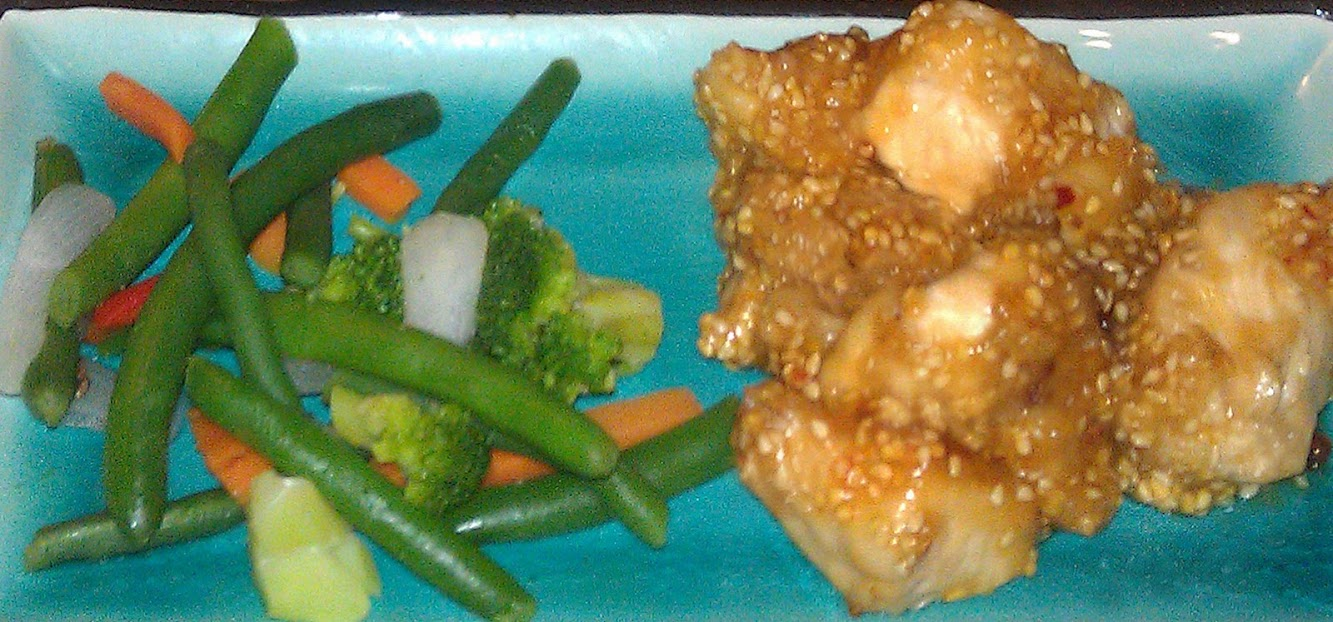 Sesame Chicken - Faster and cheaper than takeout!