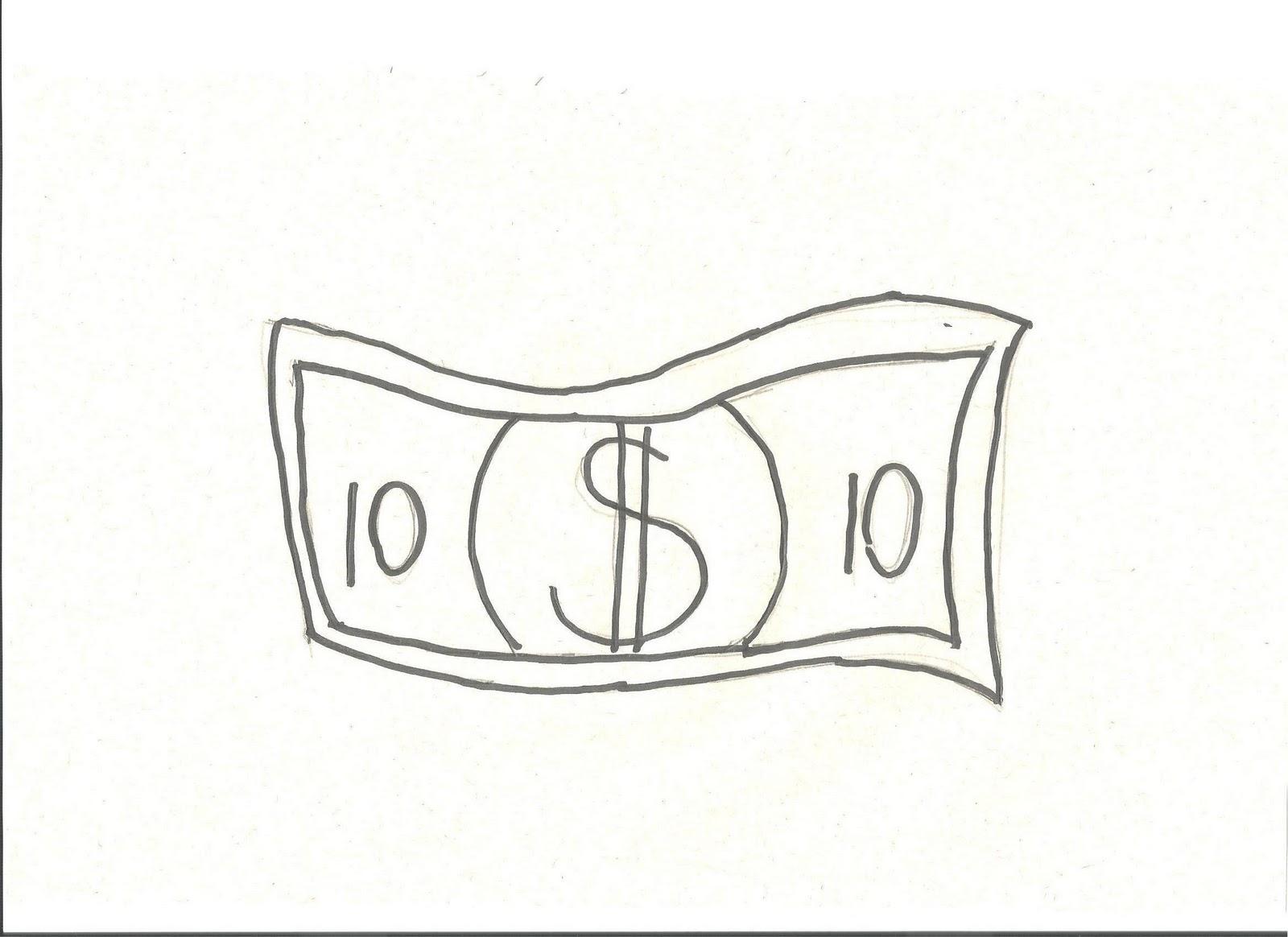 Desenhos Para Colorir Desenho Para Colorir De Dinheiro