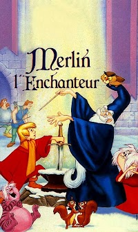 Jaquette de Merlin l'Enchanteur