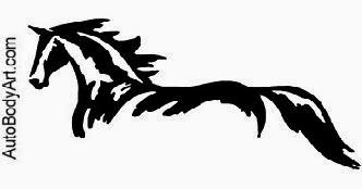 Auto Body Art®   Horses