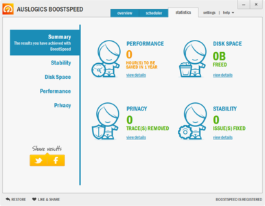 Auslogics BoostSpeed 6.5.2.0 - Optimiza tu equipo