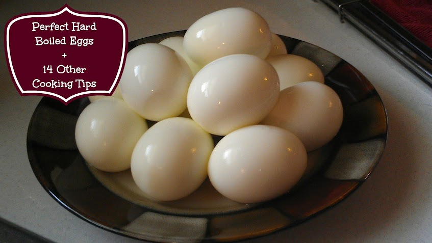 Perfect Hard Boiled Eggs + 14 Other Food & Cooking Tips