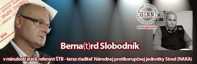 Bernard Slobodník, starší referent ŠTB