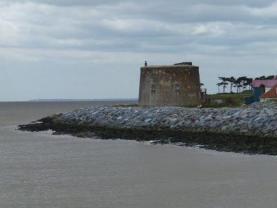Martello Tower at Bawdsey East Street