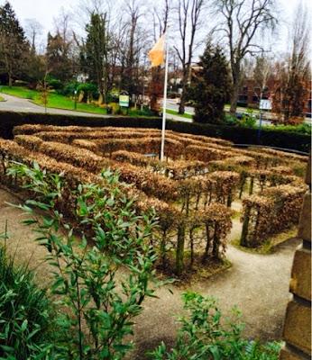 Queens Garden Maze in Bromley