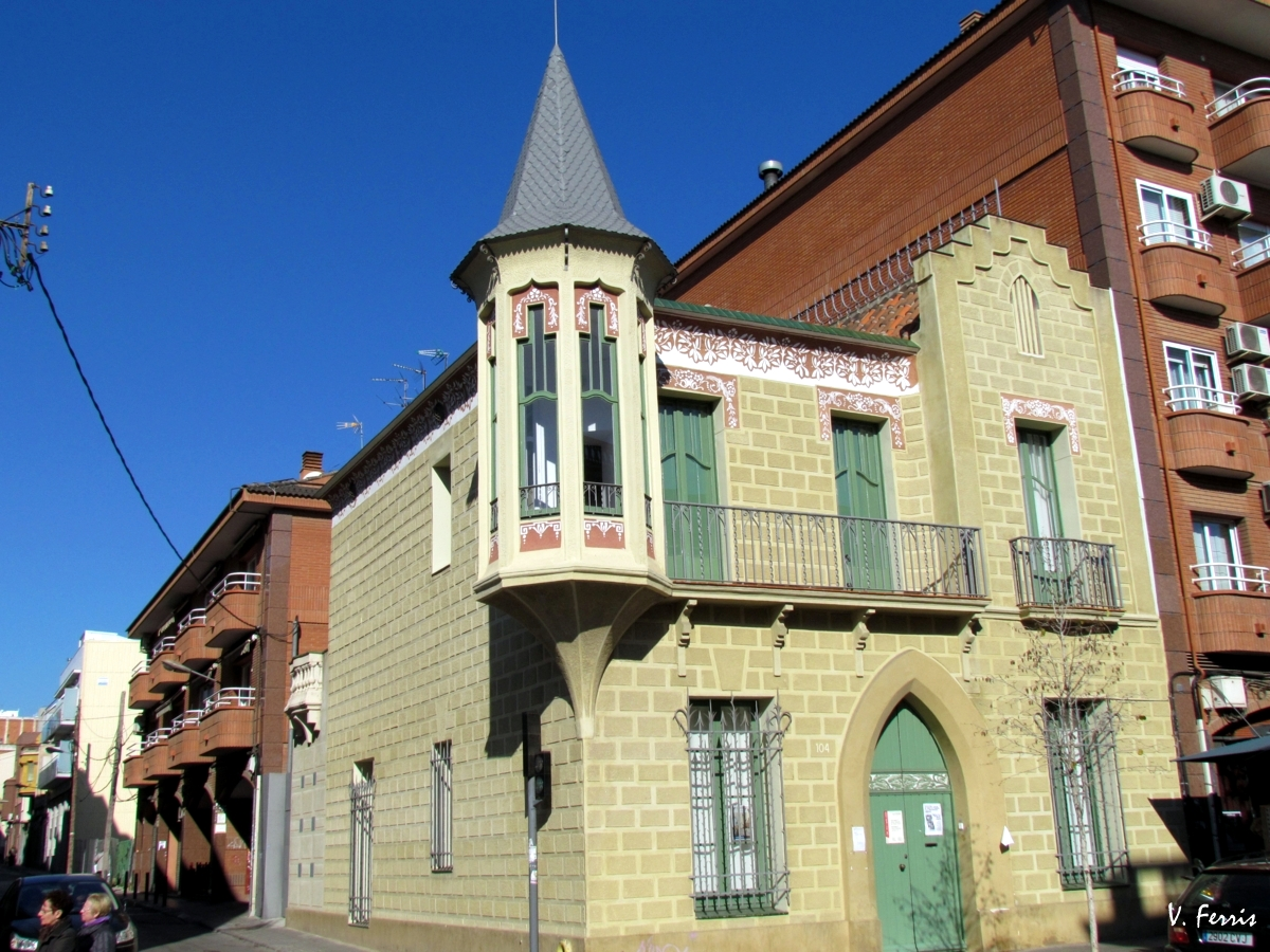 Casa antoni lleal can pepus barcelona modernista - Casas modernistas barcelona ...