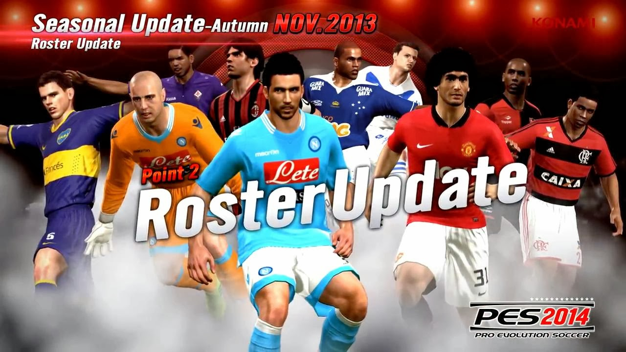 DLC 500 ALL IN ONE PES 2014 PC - YouTube