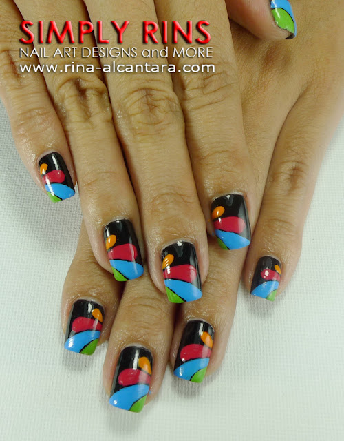 Another Abstract Nail Art Design