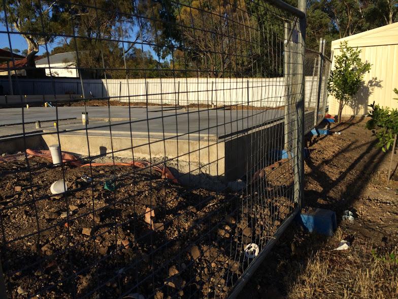 Foundation Concrete Exposed