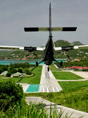 St Barts Airport, French Caribbean