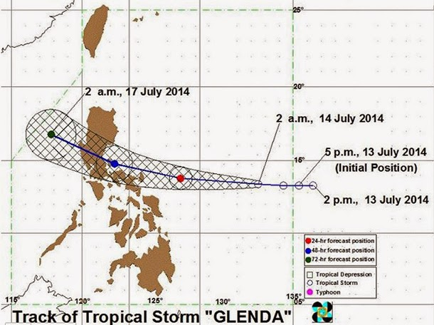 Tropical Storm Glenda