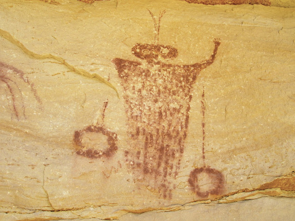 Short Canyon pictographs