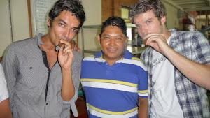 First cigar in my life - Cigar Factory Nicasa - Estelí, Nicaragua