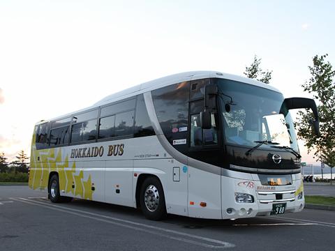 北海道バス「函館特急ニュースター号」 ・988<br />  八雲PAにて その2