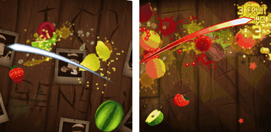 Fruit Ninja for Nokia N8