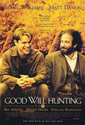 Poster Of Good Will Hunting (1997) Full Movie Hindi Dubbed Free Download Watch Online At Alldownloads4u.Com
