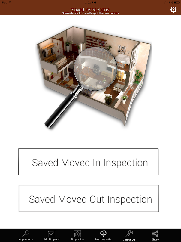Property Inspection for iPad and Android Tablet 2