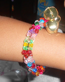 kid made Jingle Bell Bracelet