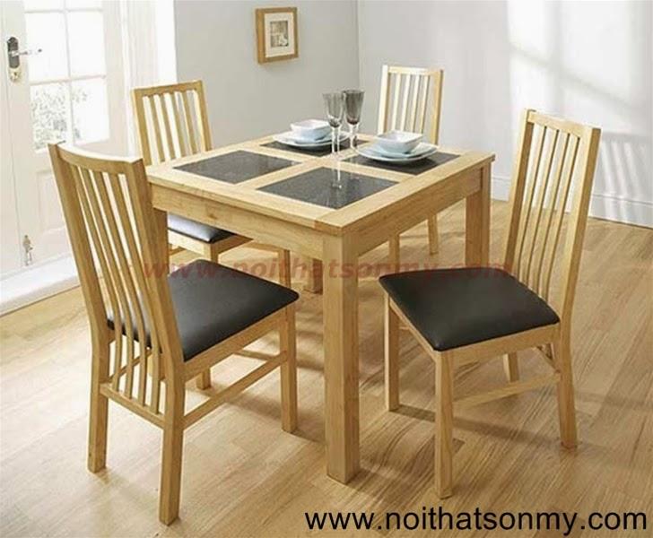 Bộ bàn ăn 4 ghế 02