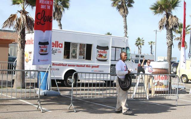 Nutella Breakfast Truck Tour