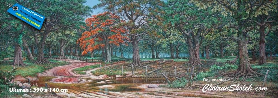 Lukisan Pemandangan Alam Karya Choirun Sholeh Kaskus