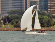 J/70 sailing Chicago J/Days
