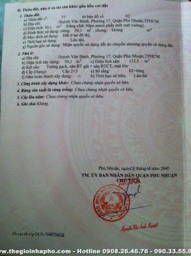 IMG 0354 Bán nhà Huỳnh Văn Bánh , Quận Phú Nhuận giá 2, 7 tỷ   NT134