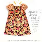 Peasant Dress Tutorial