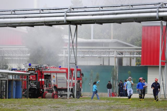 Incendio afect industria mafrisur en las cercan as de for Estanque wc plastico