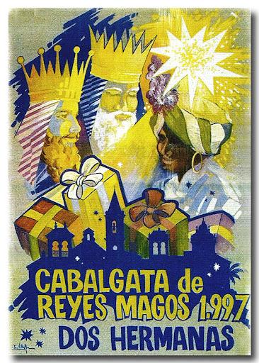 Cartel Cabalgata 1997-Autor: Isidoro Villalba