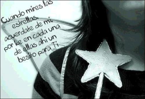 Cuando mires las estrellas acuérdate de mi