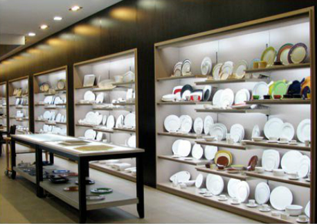 Inshop interiores comerciales showroom equipamiento for Equipamiento hosteleria