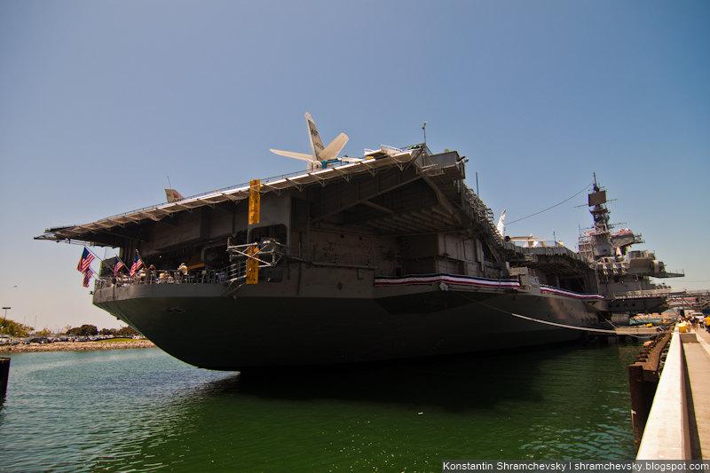 USA California San Diego USS Midway CV-41 Aircraft Carrier США Калифорния Сан Диего Мидуэй Авианосец