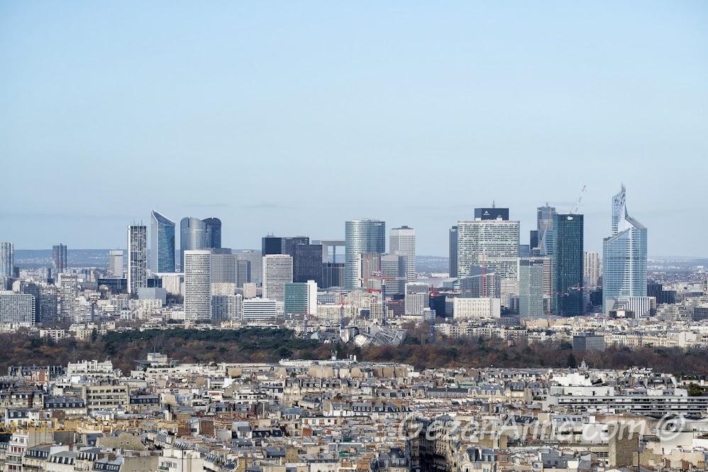 modern Paris manzarası