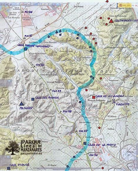 Toponimia histórica y línea final Sector Barrón